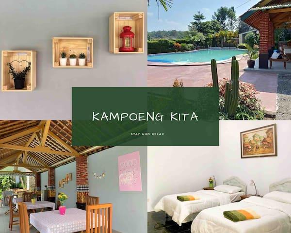 Villa Kampoeng kita • Cisaat Sukabumi