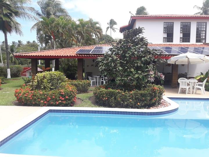 Casa de 6 quartos na praia da Penha, Itaparica-BA