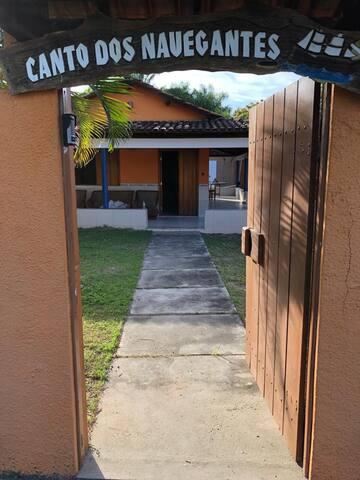 Canto dos Navegantes (entrada). Space of Navigators (entry).