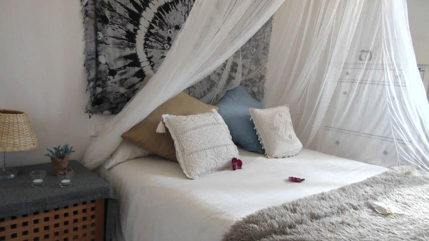 Villa Kalma :Suite privada con preciosas vistas.