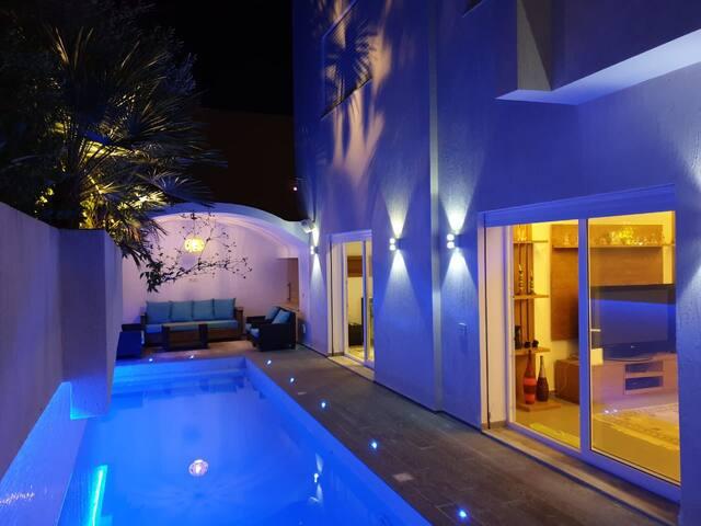 Villa in a quiet neighborhood in hammamet Sud.