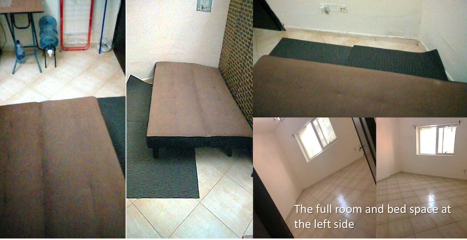 Bed space in Nahda, Sharjah