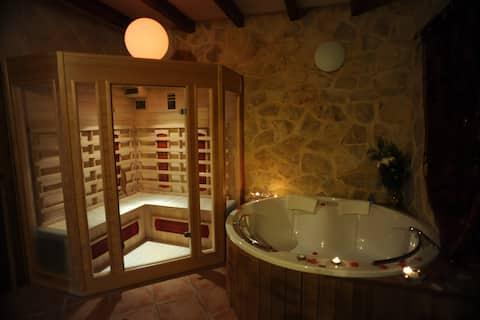 Casa con Spa privado- Suite Love Spa el Alamo