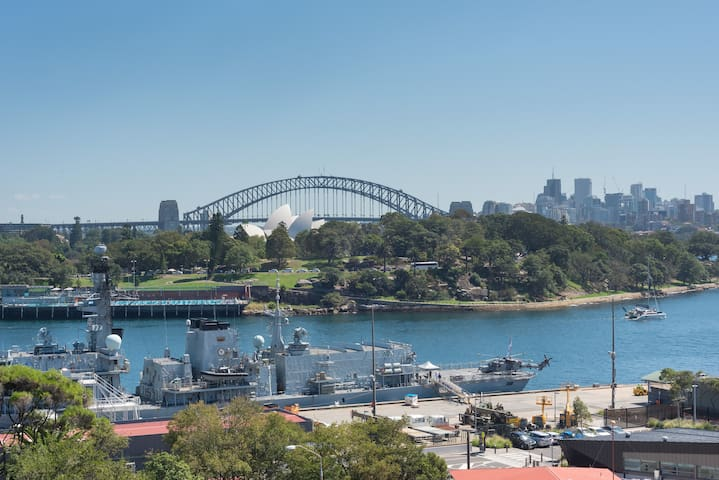Breathtaking Harbour views in Potts Point +Park!