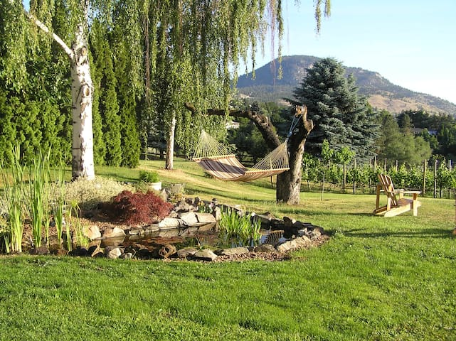 Spacious suite in a garden setting, no extra fees - Penticton - Hus