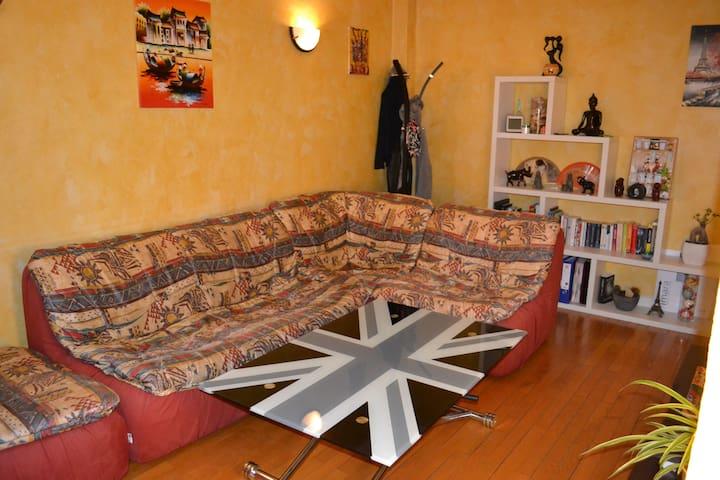 Appartement cosy en centre ville - Annecy - Apartemen