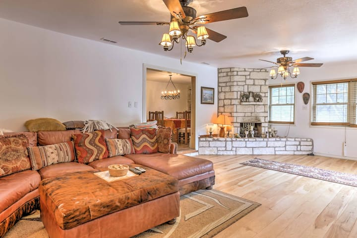 NEW! 3BR Kerrville Mountain Home w/ Private Patio!