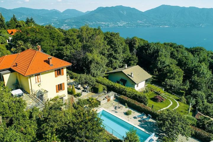 Espaciosa Villa en Trarego Italia con piscina