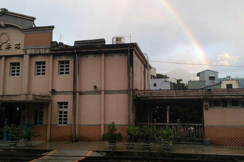 七月12, 雨後彩虹