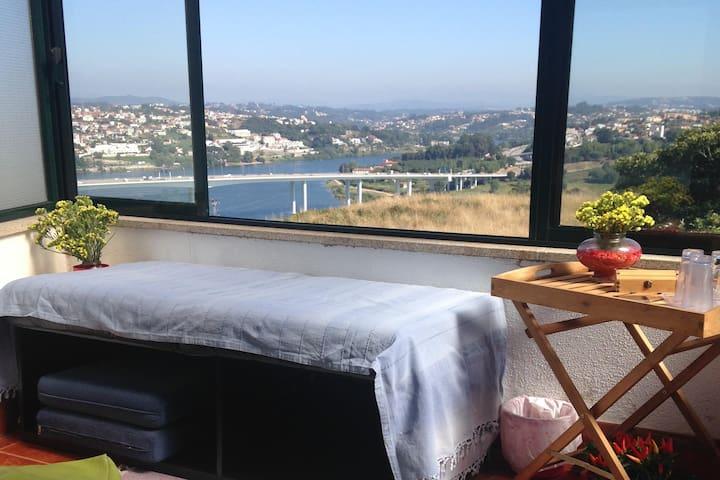 Center Porto Double Bedroom Downtown Amazing view