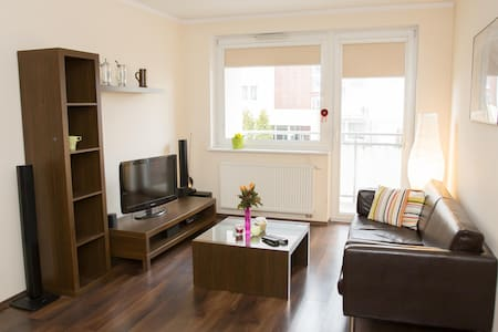 Cozy apartment,  train to town and airport - Gdańsk