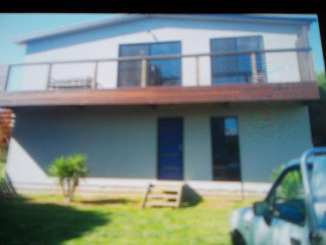 Holiday house with ocean and farm views - Sunderland Bay - Hus