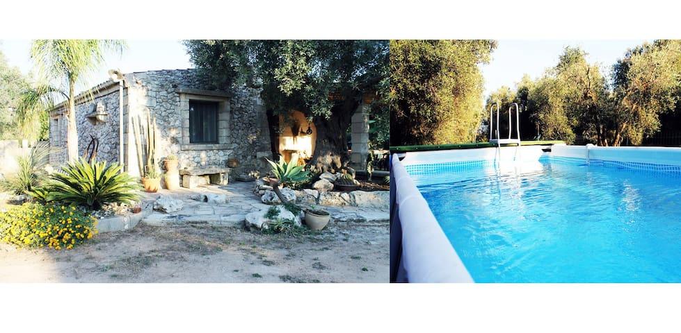 Villa De Santis un'oasi di pace tra ulivi e mare - Castrignano De' greci - Villa