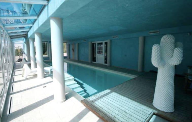 Relax nel verde con piscina - San Raffaele Cimena - Apartmen