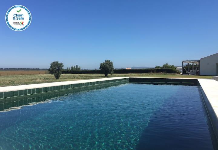 Casa na Costa Vicentina com piscina