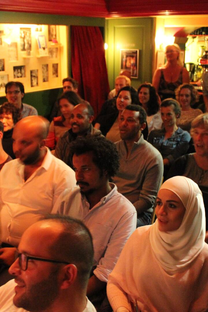 Audience during the show