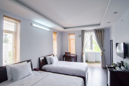 Deluxe Twin Room 200m from beach - Phước Mỹ - Bed & Breakfast