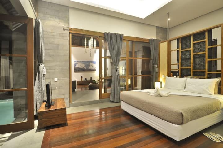 Luwak Ubud Villas @ 1 Bedroom Pool Villa +kitchen