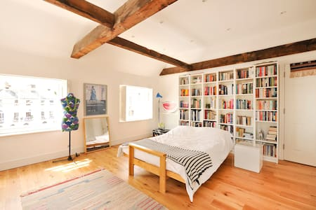 Grade II listed rooftop apartment in heart of town - Bury Saint Edmunds - 公寓