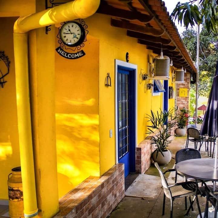 Rancho Moreira-descanso e lazer, refúgio exclusivo
