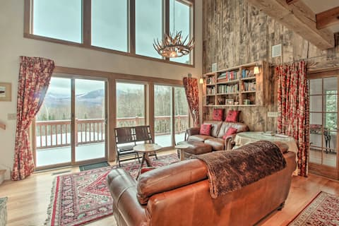Architect-Designed Retreat on 2 Acres w/ Mtn Views