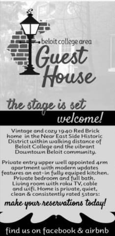 Beloit College Area Guest House