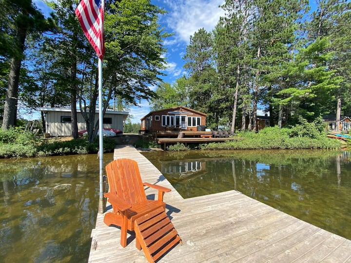 The Cedar Cottage...Your Lake House Getaway!