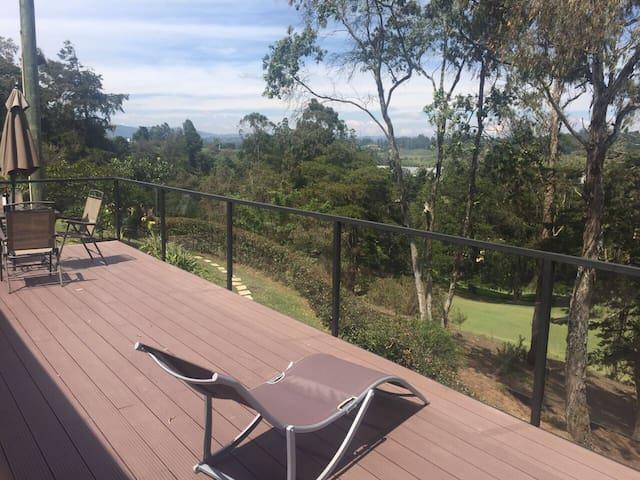 Habitación con espectacular vista - Rionegro - House