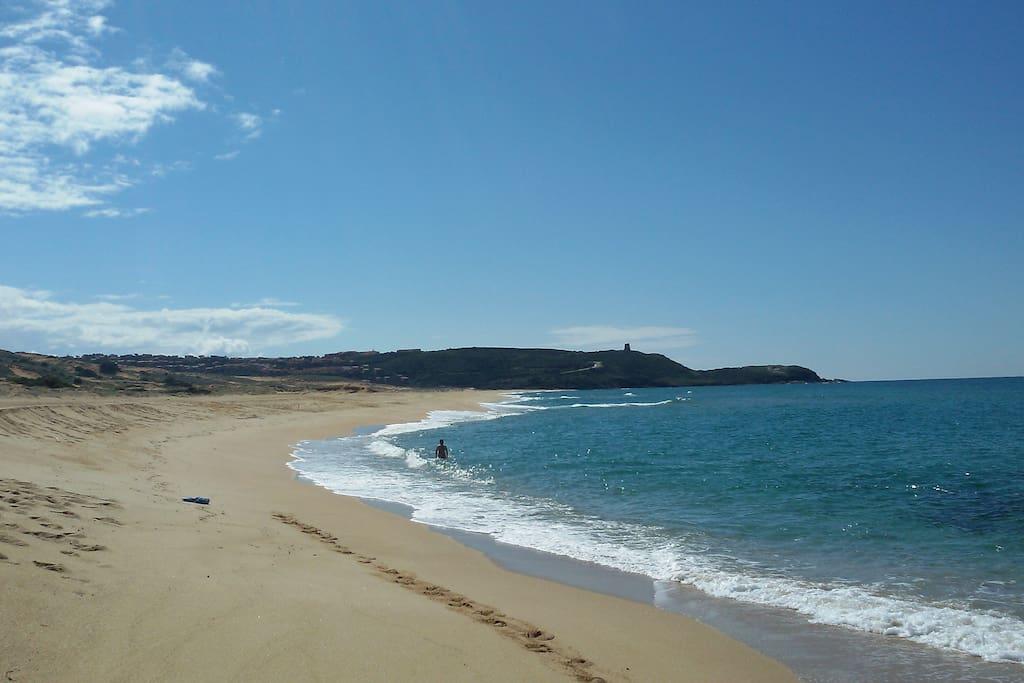 il mare visto da Pistis