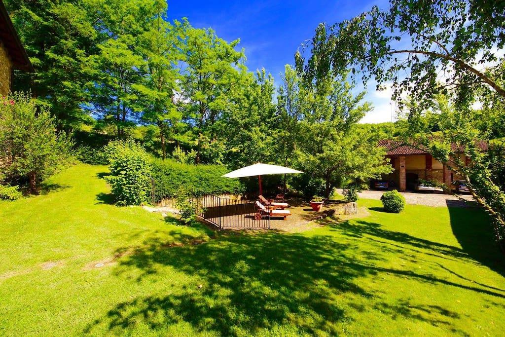 Giardino & Terrazzo.  Garden & Terrace.