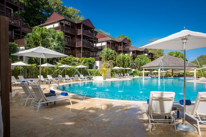 Marigot Bay Resort - Breakfast Plan Two Bedroom Bay View Residence