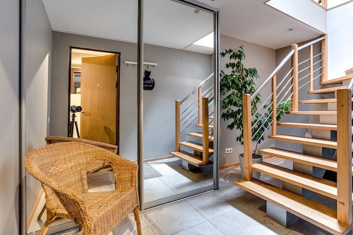 Two bedroom loft with balcony