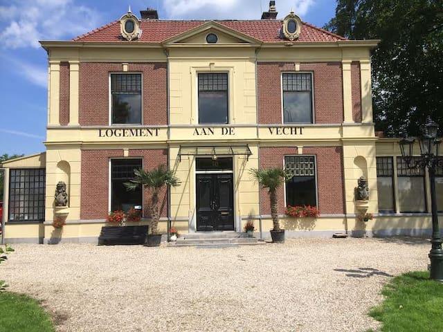 Luxe logement gelegen aan rivier de Vecht - Breukelen