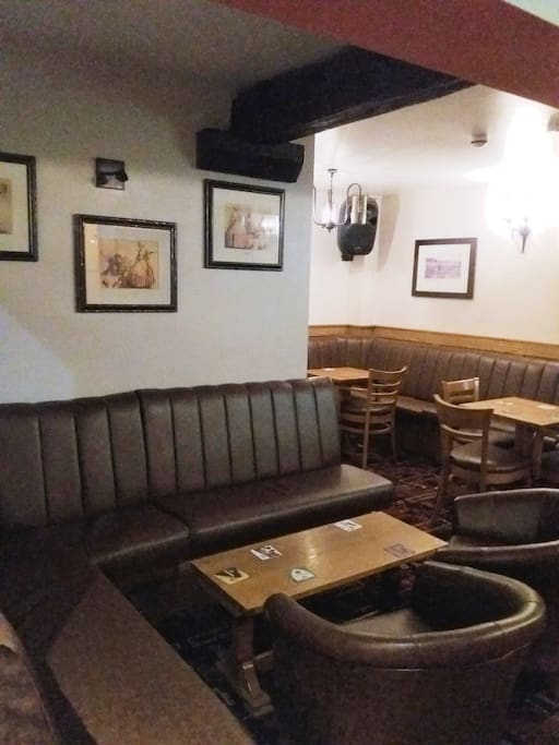 Showing just a few of seats  (opposite pool table)