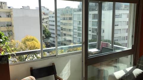 Agradable apartamento de amplios espacios. Pocitos