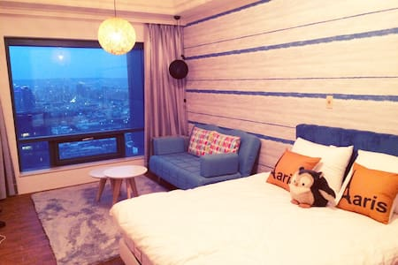 Seeing Taichung with the great view (aesthetic) - West District - Appartement
