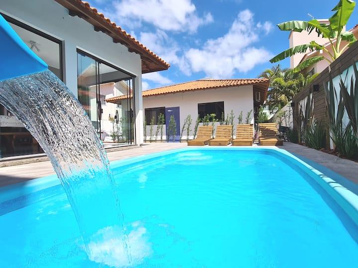 CASA INCRÍVEL - piscina, hidro  e churrasqueira!