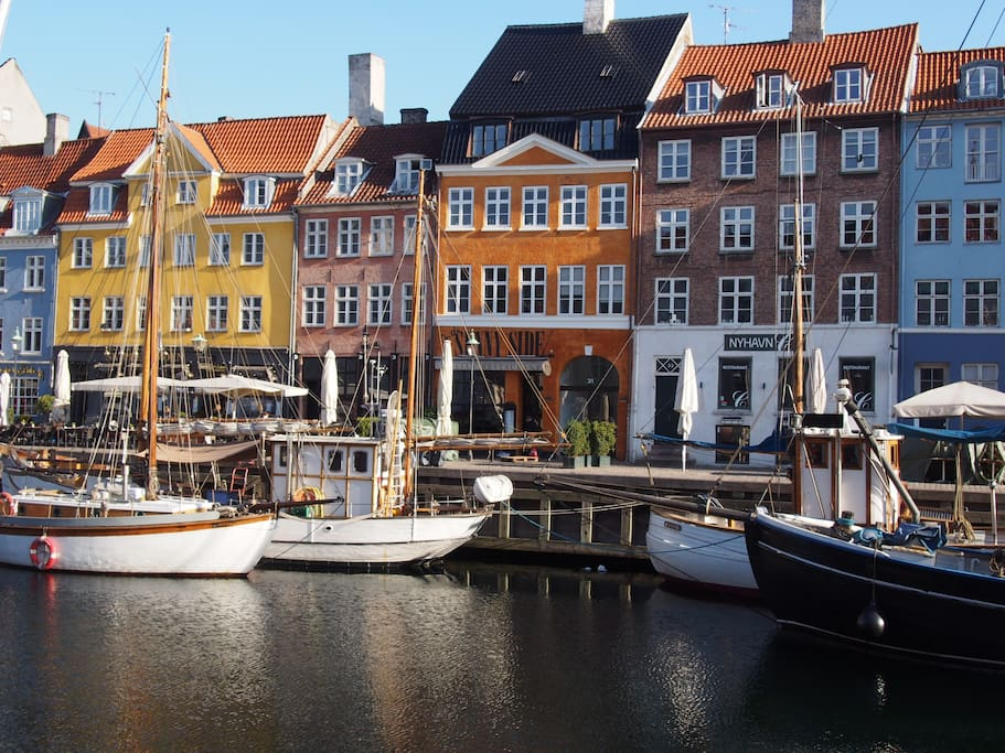 200 m from Nyhavn