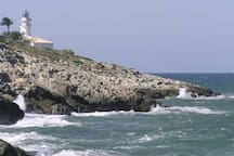 Apartamento frente al mar Mediterráneo