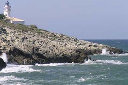 Apartamento frente al mar Mediterráneo - Faro de Cullera