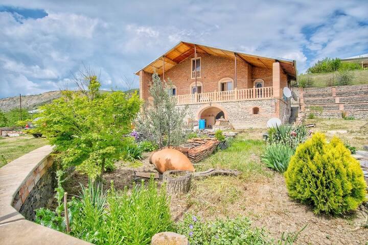 Village house in Kakheti region
