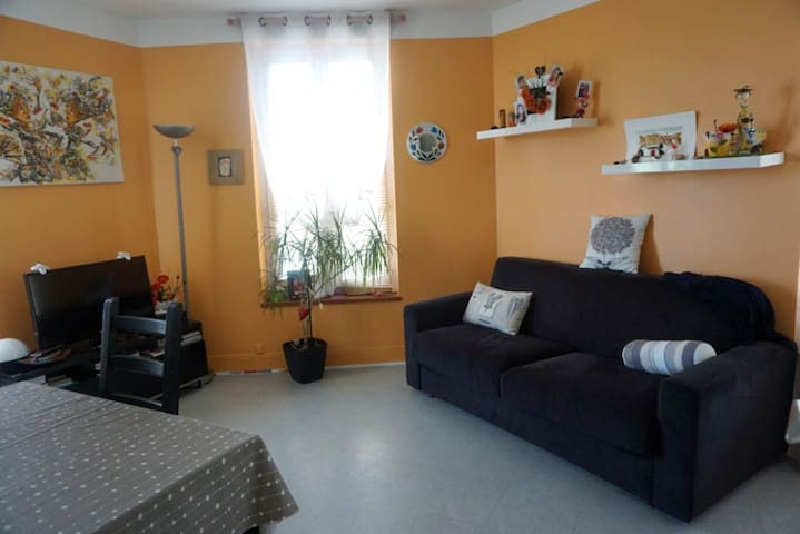 2 bedrooms in a shared flat. Asnières