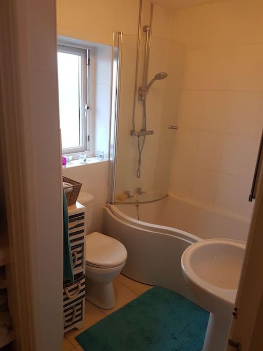 bathroom - Shower and Bath