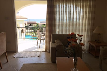 Apartment with amazing sea views in North Cyprus