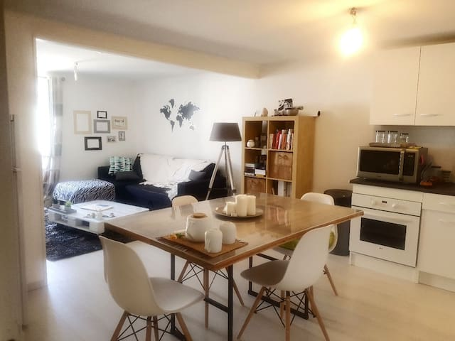 Appartement individuel centre bourg