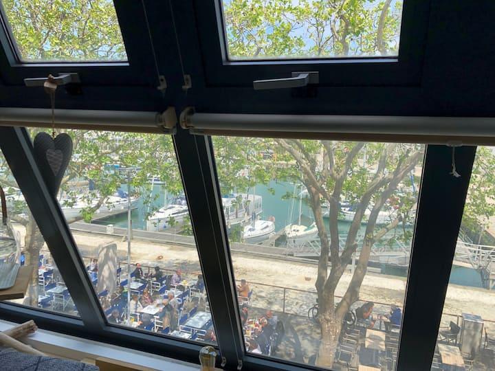 CV Gabut gd confort terrasse vue port parking en +