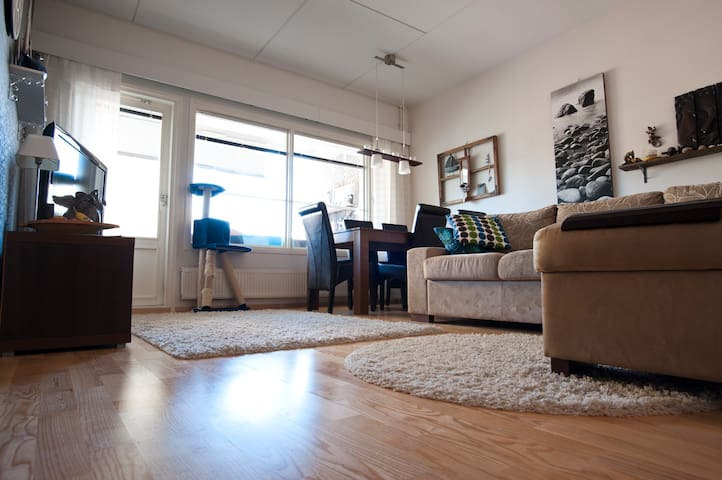 Stylish and cosy apartment in Intiö, Oulu
