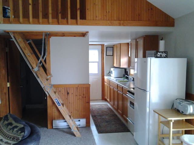 Wilke lake cottage, 30 min. from Sheboygan, Mant. - Kiel - Cabana