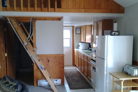 Wilke lake cottage, 30 min. from Sheboygan, Mant. - Kiel - Kabin