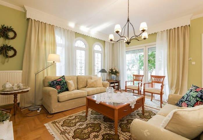 it is a beautiful house with garden - Nea Malgara - Huvila